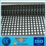 자동 접착 섬유유리 Geogrid 100/100 Kn