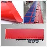 Tela incatramata rivestita del PVC per il coperchio del camion e della tenda