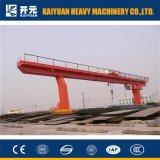 Type électrique de offre d'élévateur grue de portique simple de poutre de 20 tonnes