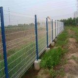 PVC上塗を施してあるGalvanzied二重円の塀