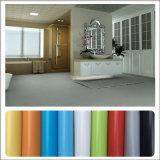 Bon vinyle de PVC d'étage des prix de la Chine parquetant le type simple pour la cuisine