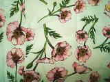 Impressão digital Su Crepe Satin Plain Silk Fabric