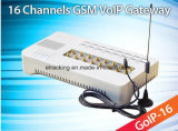 GSM VoIP Gateway GoIP16/GSM SLOKJE/VoIP Gateway goIP-16 16channels die in China wordt gemaakt