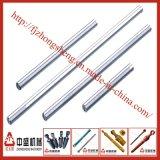 Rod de acero plateado cromo