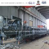 용접된 강철 구조물 건축 컨베이어 모래 분사 서비스