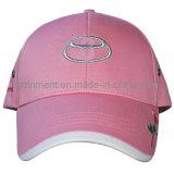 Emblema De Metal Embroidery Sandwich Twill Golf Baseball Cap (TRB023)