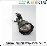 Lanterna elétrica recarregável do alumínio da luz da tocha do diodo emissor de luz do CREE