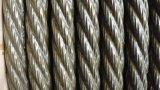 La grasa pesada cuerda de alambre de acero sin galvanizar 6X19s + FC