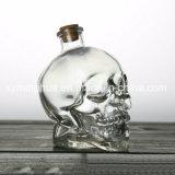 ガラス頭骨の瓶ガラスのワイン・ボトル
