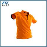 Chemise de polo ordinaire de polyester avec votre logo