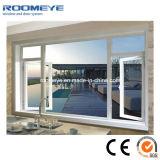 Brève Style Low-E en verre de fenêtre à battant en alliage en aluminium