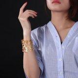 Populäre Goldhöhlung-Liebes-Form-Armband-Schmucksache-Armbänder
