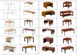 ホテルの家具1+1+3組の革控室の家具の快適なソファーセット