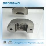 Magnete a ferro di cavallo personalizzato del motore del AlNiCo permanente di fabbricazione