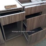 Armario de cocina modular moderno del PVC Hogar de cocina casero Cocinas modificadas para requisitos particulares