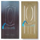 Novo design decorativo interior / exterior HDF pele de porta de melamina