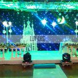 Glasvezel Light Star Stage-gordijn