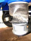 Flachbett-halb Schlussteil-Behälter-halb Schlussteil