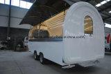 2017 de Hete Verkopende Aanhangwagen van de Snack van de Suikermaïs