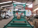 切断Large Wood Use Horizontal 25HP Diesel Portable Sawmill