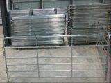 Американские черные Coated длиной используемые панели поголовья 12foot/стальные панели Corral