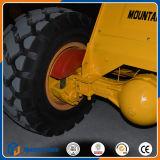 Mini cargador chino de la rueda con asimiento de la grúa