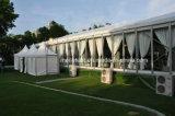 Barraca branca do telhado da decoração da barraca do casamento do famoso do forro de 300 Seater