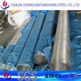 Aislante de tubo redondo superficial Polished del acero inoxidable en estándar del estruendo