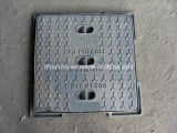En124 B125 Light Duty Square Manhole Cover with Hyd Closing