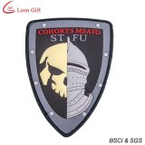 Vente en gros Custom Logo PVC Pin Badge (LM1249)
