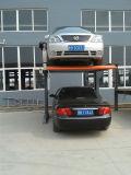 2 simples Post dois espaços de armazenamento de carro Elevador Estacionamento