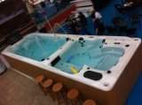 Endless Dual Zone Acrylic Swim SPA com CE