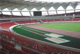 경기장 학교 Prefabricated 고무 Rolls를 사용하여 장기간 궤도를