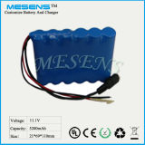 (12V 5200mAh) kundengebundene nachladbare Batterie