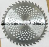 Tip Grass Cutter Blade Tct 255mm 40t Tungsten Carbide