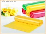 De plastic Duidelijke Aangepaste HDPE of LDPE Zwarte Vuilniszak van de Zak op Broodje