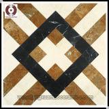 Tuile de plancher de tuiles de pierre de marbre de la mode 600*600 (L604)