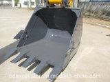 Pelle sur chenilles Baoding Excavator Bd90 avec godet jaune / 0.5m3