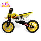 最も新しいデザイン安全ペダルの子供W16c192のための木のバランスのバイクの自転車