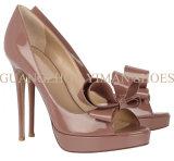 2013 Fashion sandale en cuir (002184-01 YMS)
