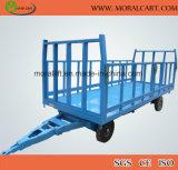 Utilisation de l'entrepôt charge lourde remorque de transport avec la CE