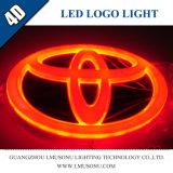 Lumière d'insigne de logo du véhicule 4D DEL pour Toyota