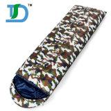 カムフラージュによってカスタマイズされる大人のキャンプの寝袋
