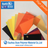 Colored rigid plastic PVC Sheet for Furniture