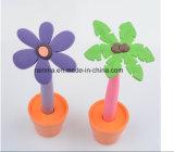 Toutes sortes de crayon lecteur en plastique de stand de bureau de types de fleur pour les cadeaux promotionnels