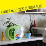 Feito em China projetar o tanque de peixes acrílico do mini tamanho
