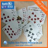 Лист PVC белизны 0.3mm 100% опаковый лоснистый для играя карточек