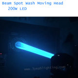 Индикатор дальнего света 200 Вт перемещение головки промойте освещения сцены