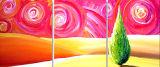 Huile sur toile abstraite 0111