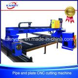 De de hoge Buis van het Metaal van de Brug van de Nauwkeurigheid en CNC Oxy van de Plaat Machines van de Snijder van het Plasma